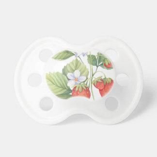 Erdbeeren Schnuller