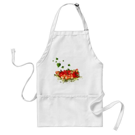 Erdbeeren Schürze