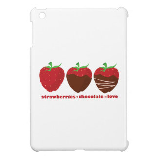 Erdbeeren u. Schokolade iPad Mini Schale