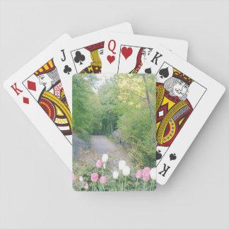 Erdbeerfeld durch Ann Finster Spielkarten