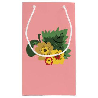 Erdbeergarten-Geschenk-Tasche Kleine Geschenktüte
