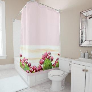 ErdbeerKaktusfeige Duschvorhang