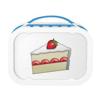 Erdbeerkuchen - Emoji Brotdose