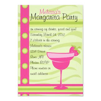 Erdbeermargarita-Party 12,7 X 17,8 Cm Einladungskarte