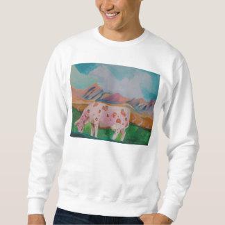 Erdbeermilch-Kuh durch Stephen R. Sweatshirt