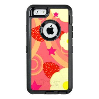 Erdbeermuster 2 OtterBox iPhone 6/6s hülle