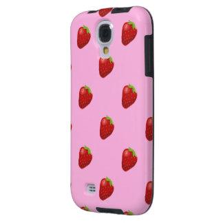 Erdbeermustersamsungs-Galaxie S4 Vibe Galaxy S4 Hülle