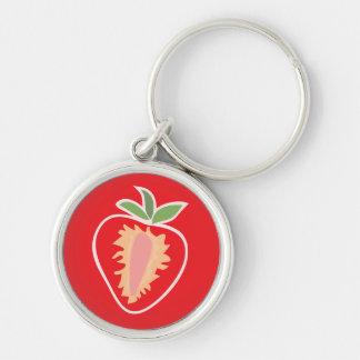 Erdbeerschlüsselkette Schlüsselanhänger