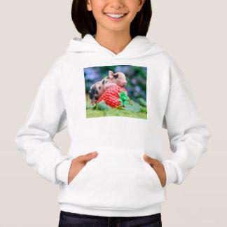 Erdbeerschwein Hoodie