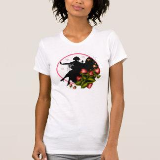 ErdbeerSilhouette-T-Shirt für Damen T-Shirt