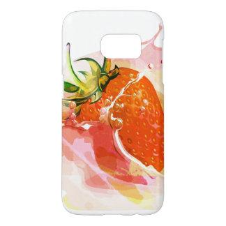 Erdbeerspritzen! Aquarell