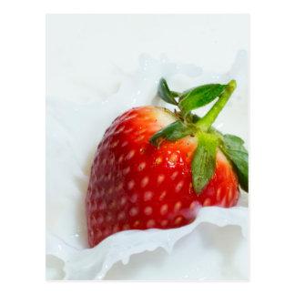 Erdbeerspritzen Postkarte