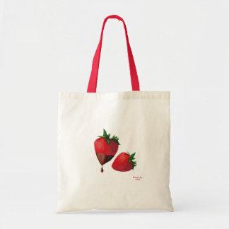 ErdbeerTaschen-Tasche Budget Stoffbeutel