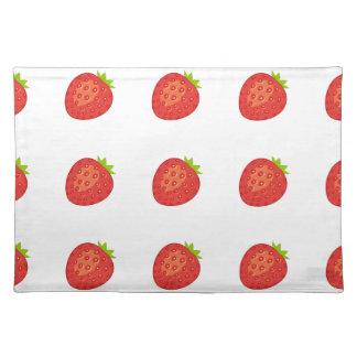 ErdbeerTischset Stofftischset