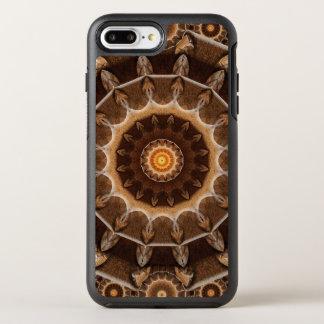 Erde bearbeitet Mandala OtterBox Symmetry iPhone 8 Plus/7 Plus Hülle