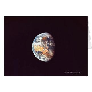Erde gesehen vom Raum Karte