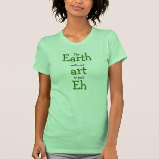 Erde ohne Kunst ist gerade wie Tshirt