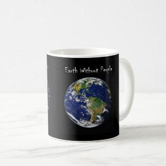Erde ohne Leute Kaffeetasse