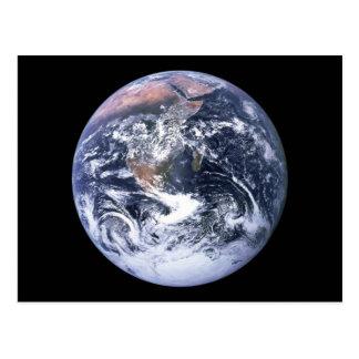 Erde Postkarte
