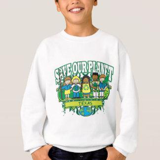 Erde scherzt Texas Sweatshirt