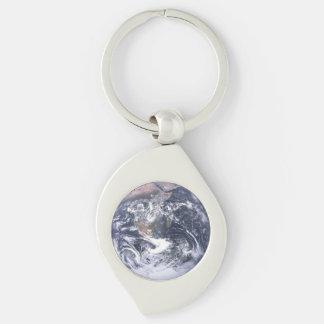 Erde Schlüsselanhänger