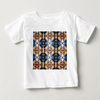 Erde tont geometrisches abstraktes Muster Baby T-shirt