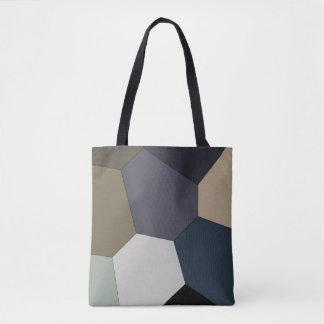 Erde tonte Muster Tasche