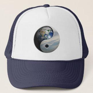 Erde und Himmel Yin Yang Truckerkappe