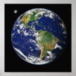 Erde vom Raum Posterdrucke