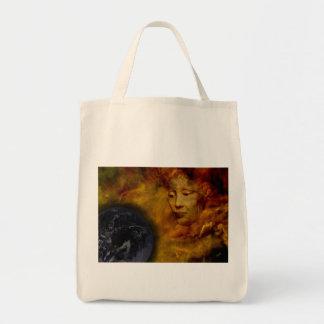 Erdgaia-Umwelt-Digital-Collagen-Taschen-Tasche Einkaufstasche