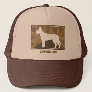 Erdiger Carolina-Hund Truckerkappe