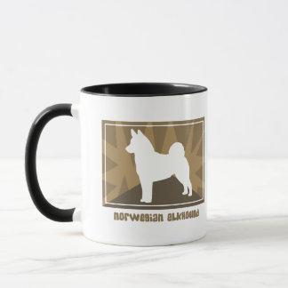 Erdiger Norweger Elkhound Tasse