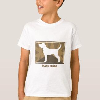 Erdiger Plott Jagdhund T-Shirt