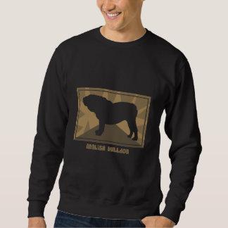 Erdiges englisches Bulldoggen-Sweatshirt Sweatshirt