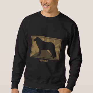 Erdiges Kuvasz Sweatshirt