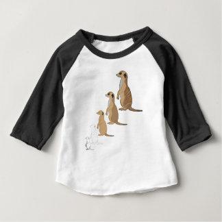 Erdmännchen Baby T-shirt