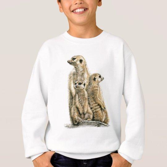 Erdmännchen - Meerkats Sweatshirt