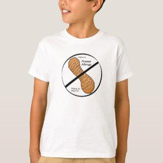 Erdnuss-Allergie-Warnung T-Shirt