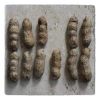 Erdnuss-Stillleben Töpfeuntersetzer