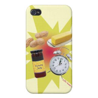 Erdnussbutter-Gelee-Zeit Etui Fürs iPhone 4