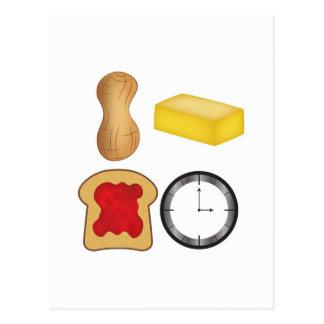 Erdnussbutter-Gelee-Zeit! Postkarte