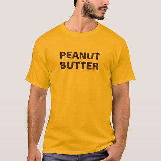 Erdnussbutter-langes Hülsen-Shirt T-Shirt