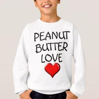 Erdnussbutter-Liebe Sweatshirt