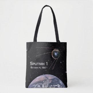 Erdsatellit Sputnik 1 Tasche
