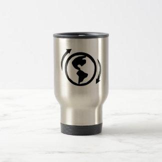 Erdtag Kaffeereise-Tasse recycelnd Reisebecher