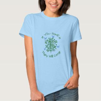 Erdtagesbaum-T - Shirt
