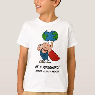 Erdtagessuperhero-T - Shirt
