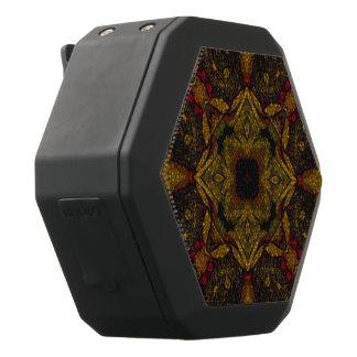 Erdton-Blumen-Beschaffenheit Schwarze Bluetooth Lautsprecher
