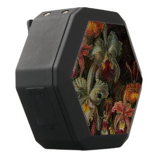 Erdton-Vintage Blumen Schwarze Bluetooth Lautsprecher