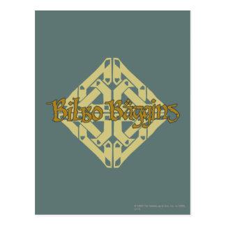 Erebor - BILBO BAGGINS™ Name Postkarte